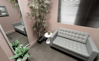 Our state of the art facility has a quaint waiting area to provide comfort for patients