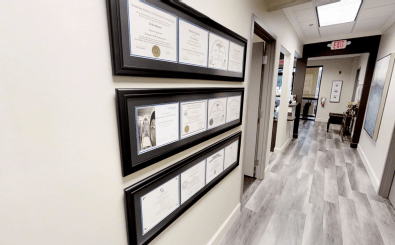 Our facility has many awards and certificates to showcase our accreditations