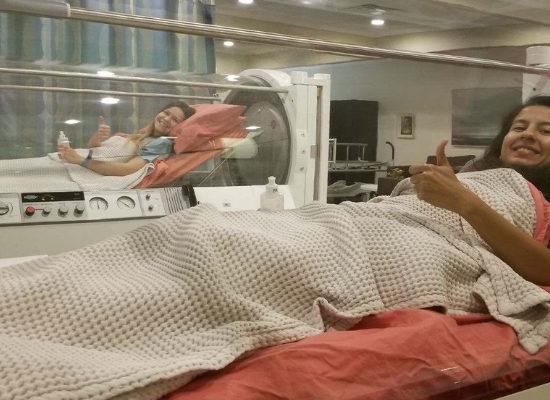 hyperbaric oxygen therapy treatment